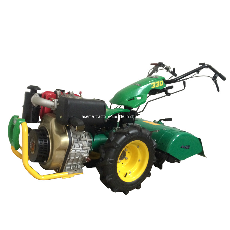 Acecowboy 330 Diesel 186f 9HP Walking Tractor with 65cm Tiller (ACE330/D186F)