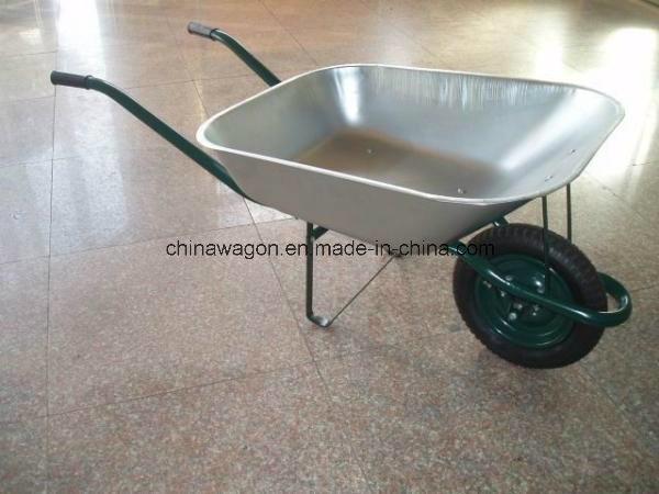 Heavy Duty Concrete Cart Industrial Wheelbarrow