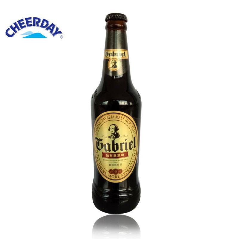 Abv4.3% 11plato 418ml Brown Bottle Gabriel Black Beer