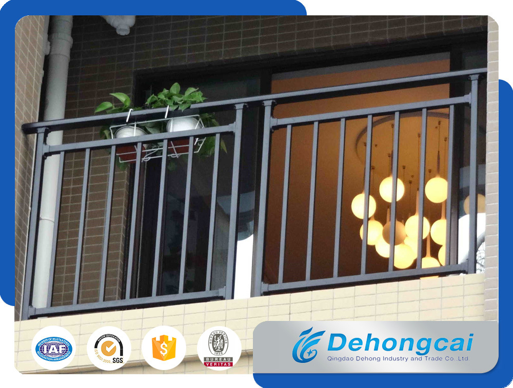 Ornamental / Commertial / Residential Steel Wrought Iron Balcony Fences