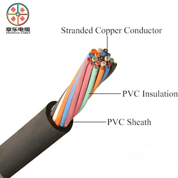 PVC Electrical Wire, Copper Conductor Control Cable 4501/750V