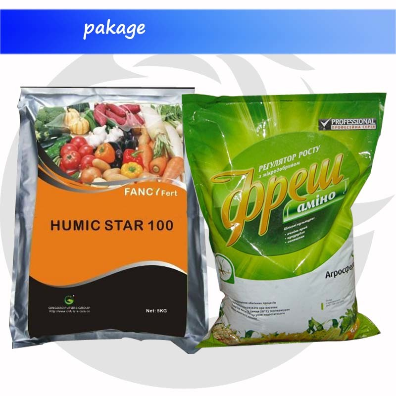 Humic Acid Type Humate Fertilizer Potassium Humate