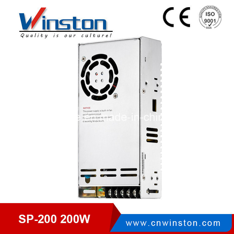 Sp-200 200W 12VDC High Efficiency Single Output Power Supply