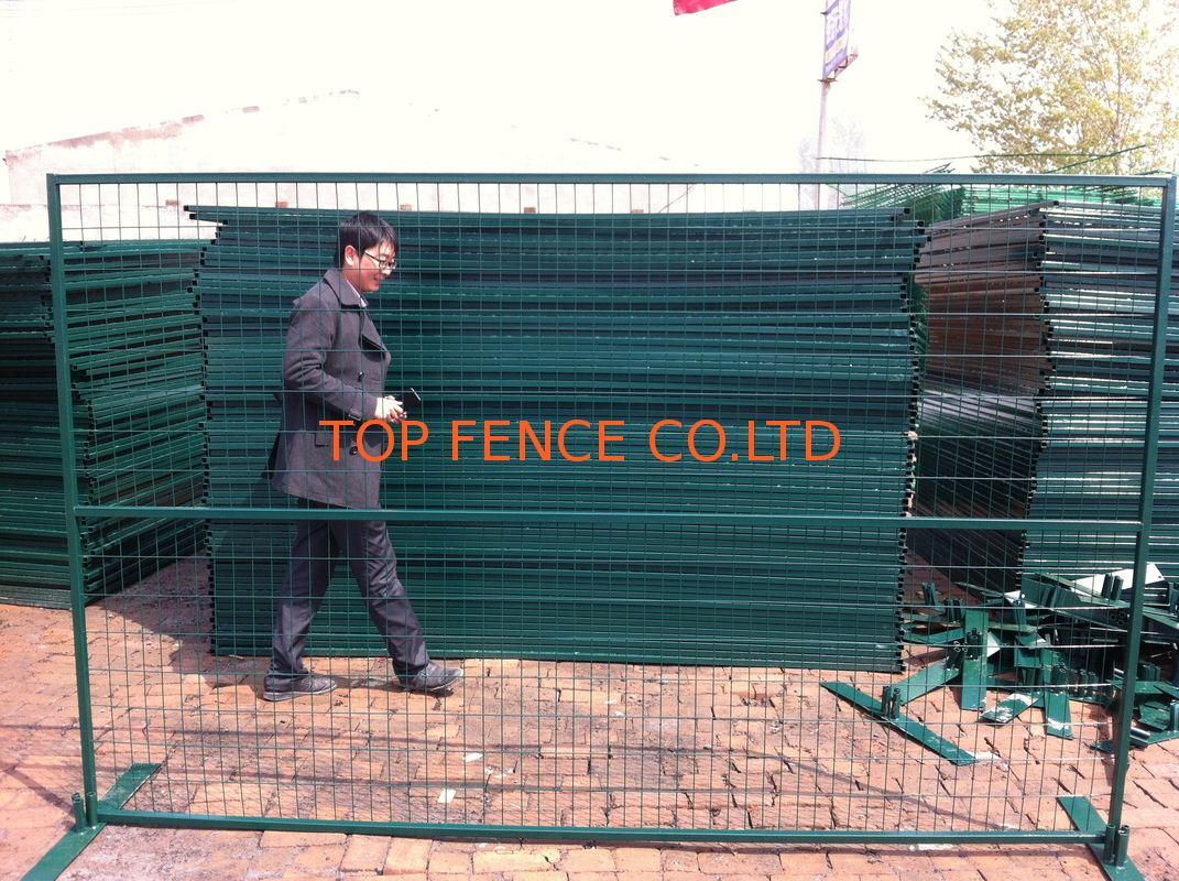 Canada Standard Residential Sites Used Temporary Fence