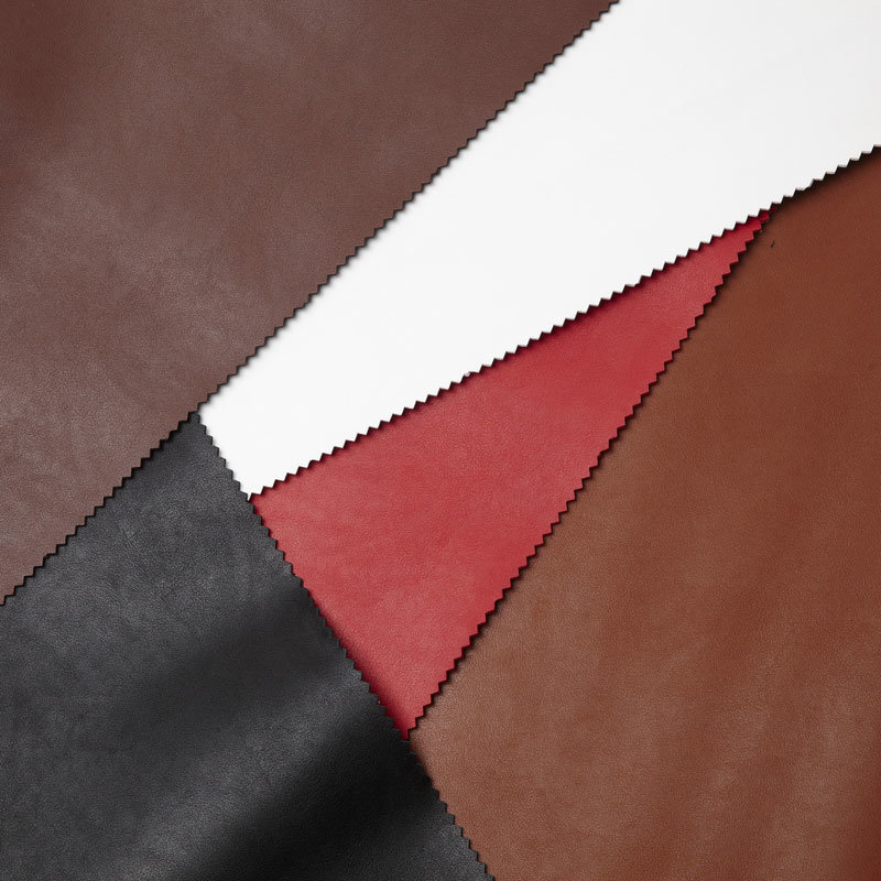 Semi Microfiber PU Leather for Shoes and Bags (BGF114-XXET)