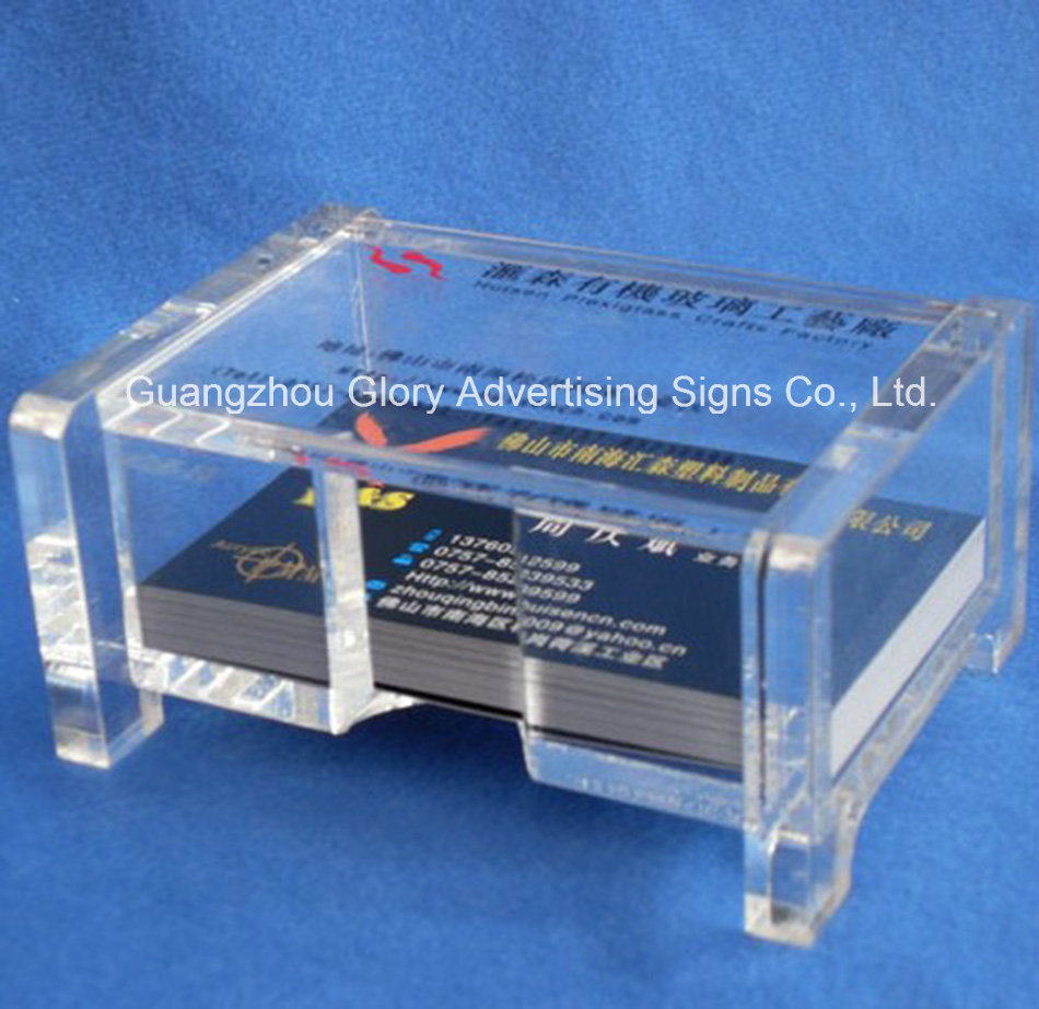 Plastic Clear Acrylic Display for Name Card