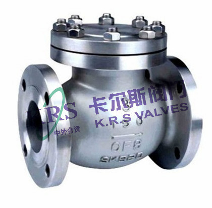 API Cast Steel Swing Type Check Valve (H44H/Y)