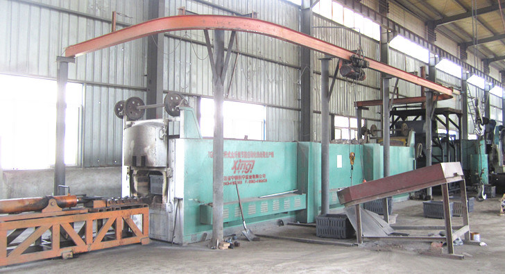 Heat Treatment by Oil Quenching Furnace