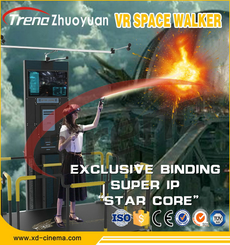 HTC Vive Vr Walking Standing up Virtual Reality Simulator with Vr Infinite Space Walking Platform