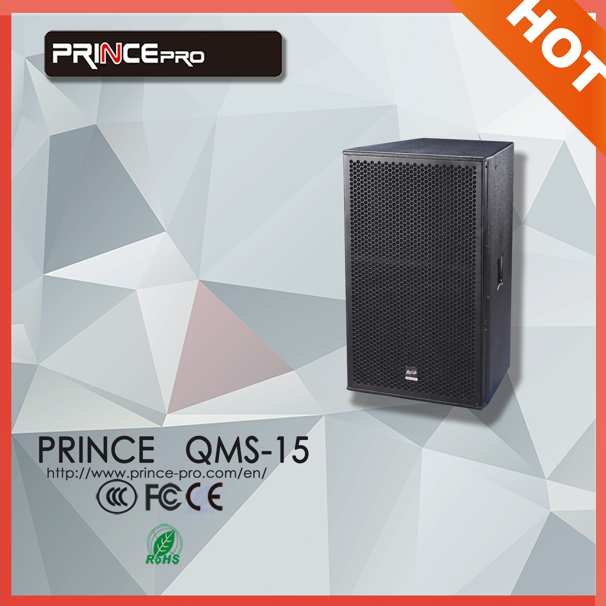 Single 15 Inch Full Frequency PRO Audio Sound Box
