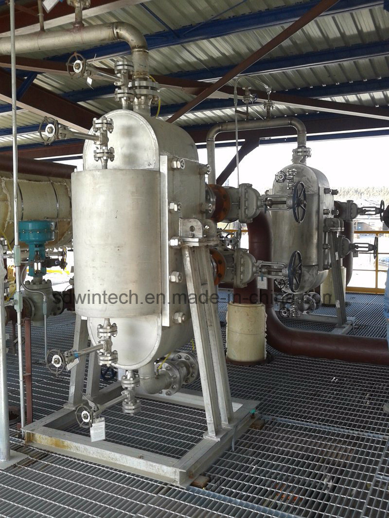 Wbz 900 Semi-Circular Shell All Welded Plate Heat Exchanger/High Pressure/High Temperature
