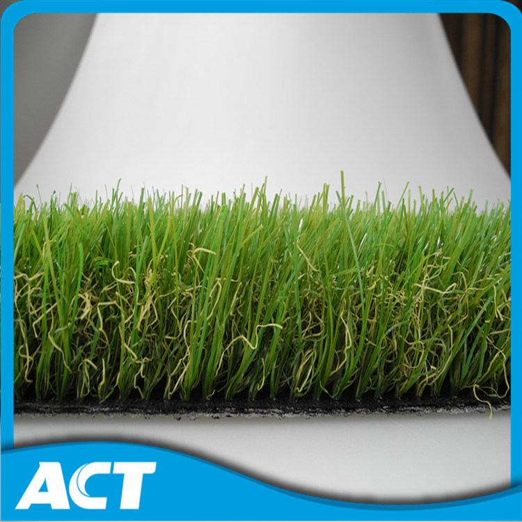 40mm Natural Looking Landscaping Artificial Grass Garden Turf Lawn L40