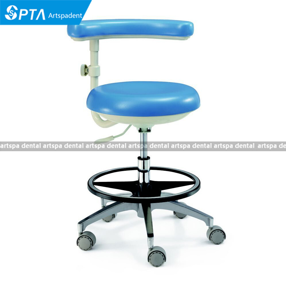 Dental Comformable Nurse Stool Dentist′s Chair for Dental Unit