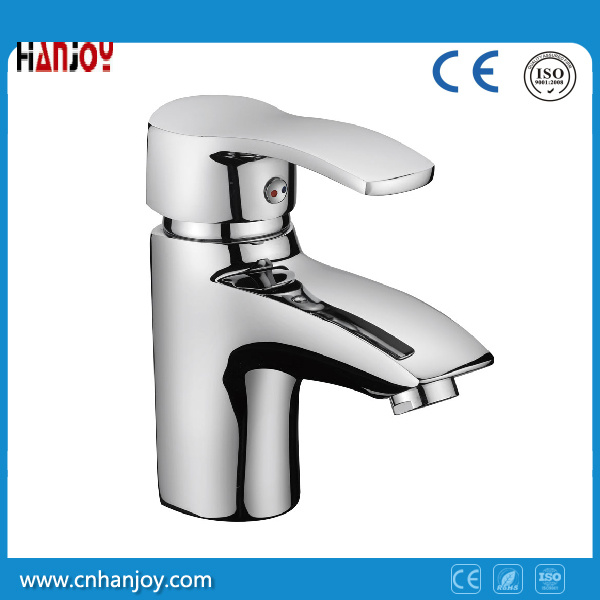 Hot Sale Deck Mounted Single Handle Brass Basin Tap (H01-101)