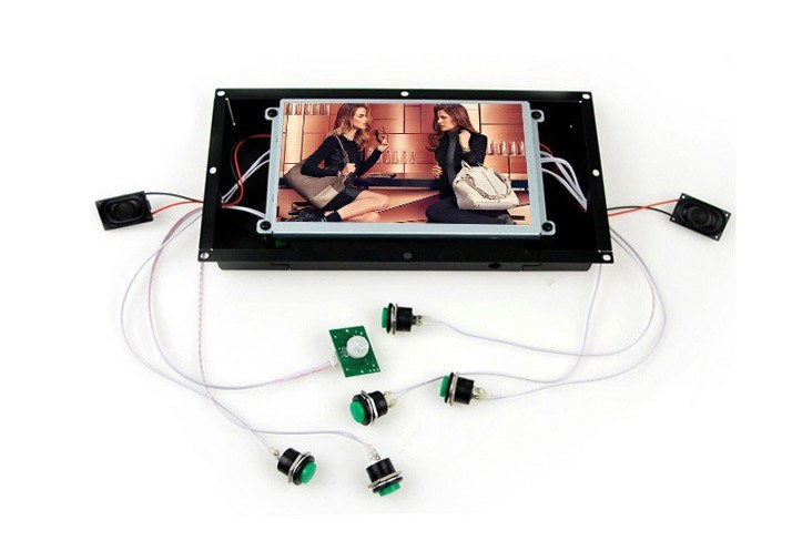 Ad Player, Open Frame LCD Player