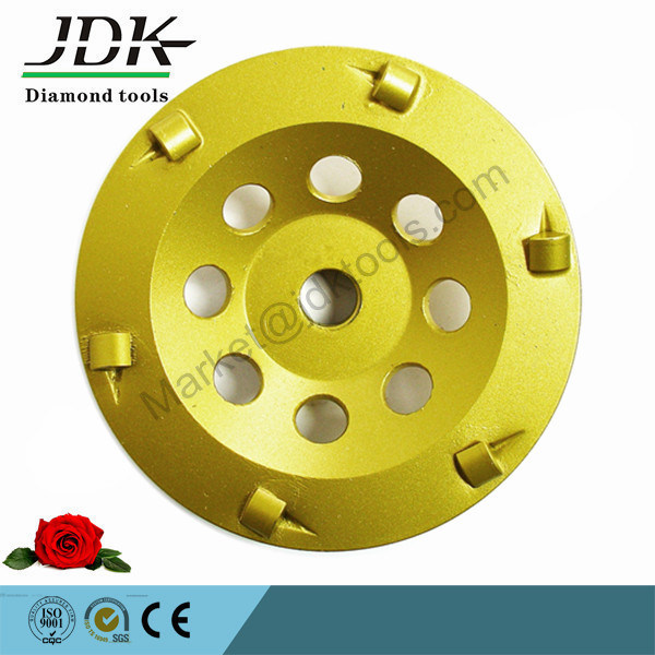 """100mm """" Quarter Round PCD Grinding Cup Wheel"""