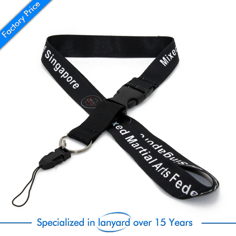 Factory Sell Sublimation Lanyard with Full Colors Logo