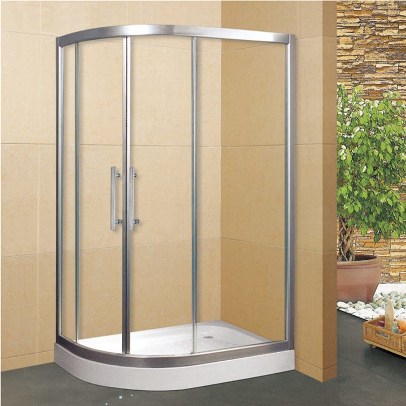 Assembled Bathroom Corner Shower Enclosure