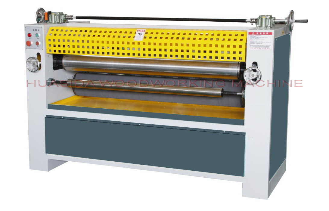2.2KW woodworking single side glueing machine for panel