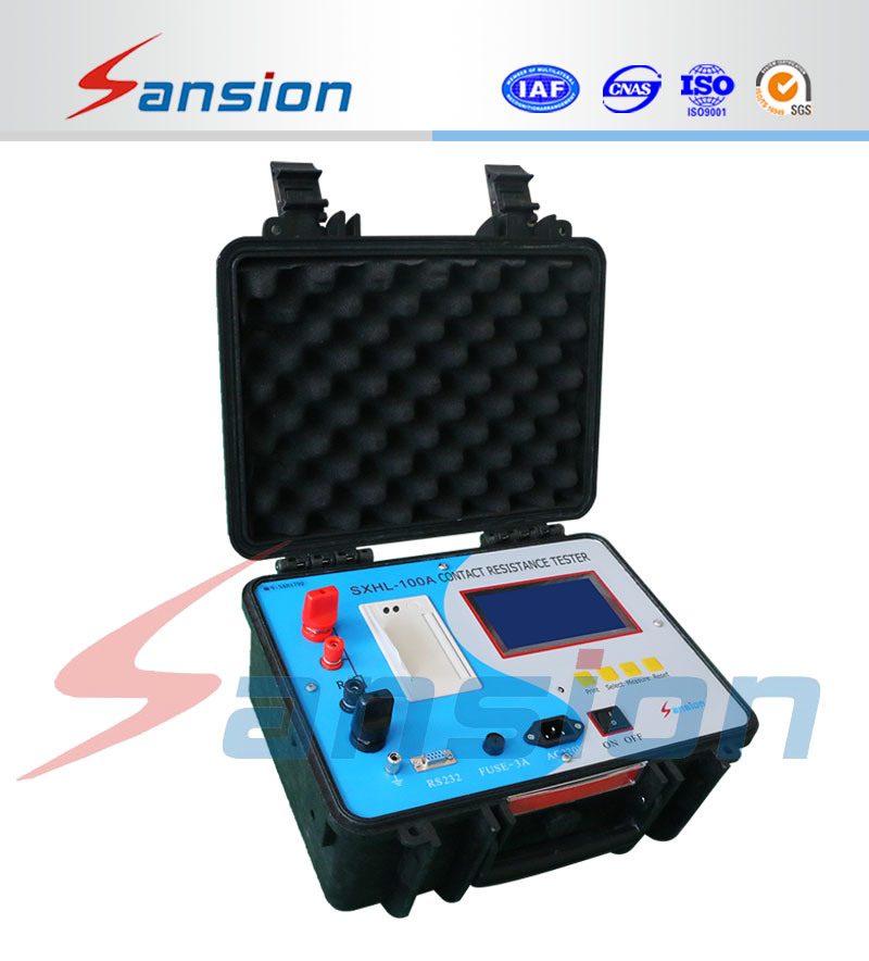 100A Switchgear Contact Resistance Meter