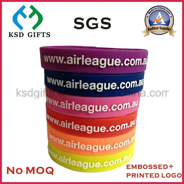 Promotion Cheap Gift Silicon Bracelet/Silicone Wristband