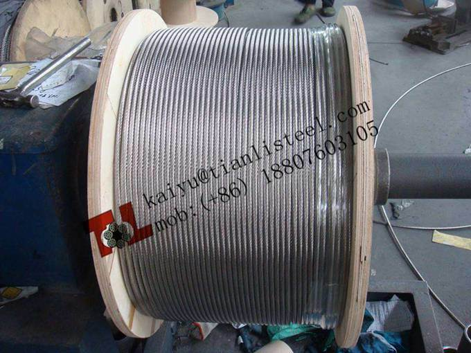 304 1X19 Stainless Steel Wire Rope