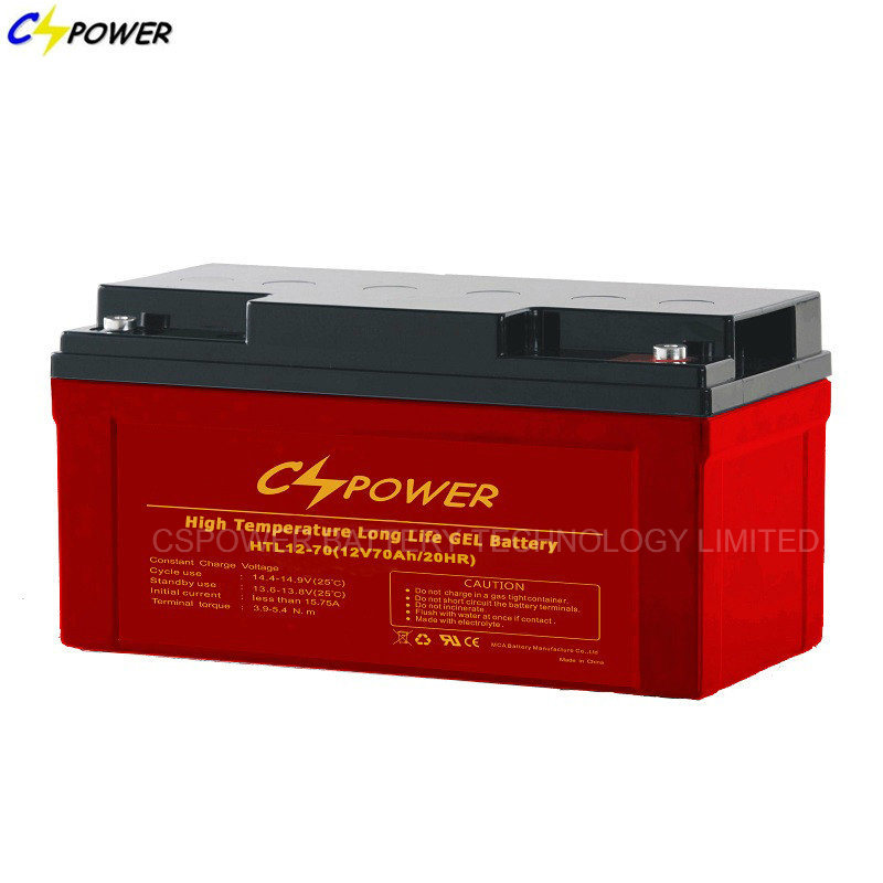 VRLA Gel Battery 12V 75ah/85ah for Solar