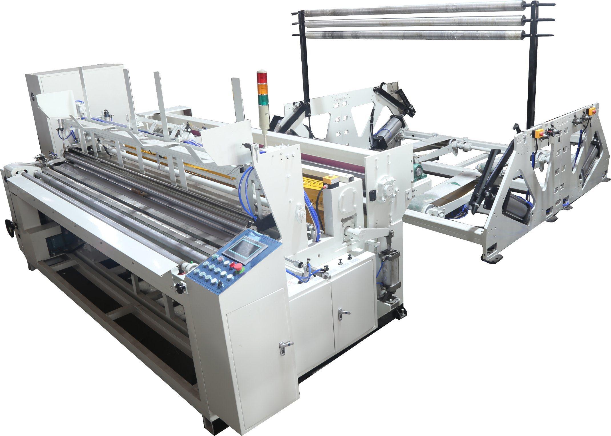Automatic Rewinding Jumbo Roll Toilet Paper Making Machine/ Jrt Rewinder Machine