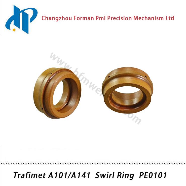 Trafimet A101/A141 Plasma Cutting Torch Consumables Kit Swirl Ring PE0101