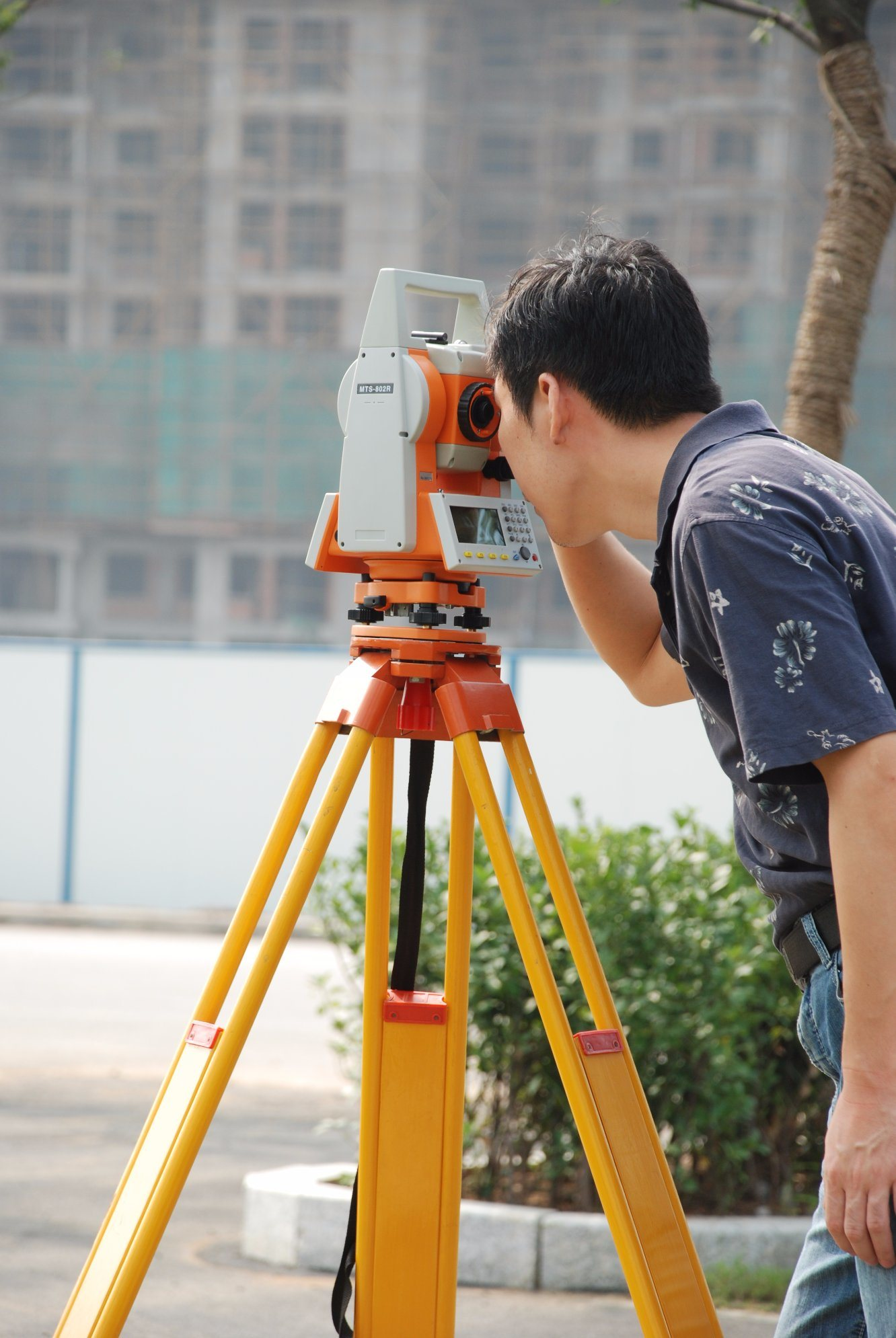 Mato Mts-802r Total Station Non Prism 300m Surveying Instrument