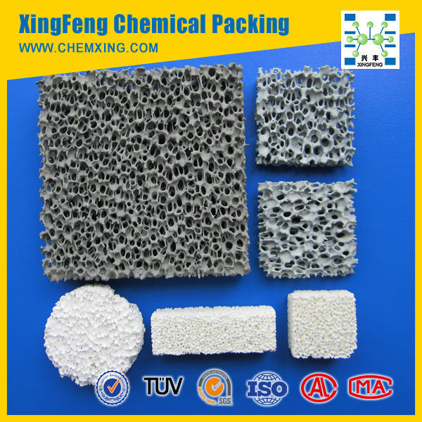 High Strength Zirconium Oxide Zro2-Ceramic Foam Filter