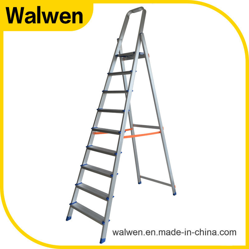 High Strength Domestic Flexible Folding Household Aluminum Ladder