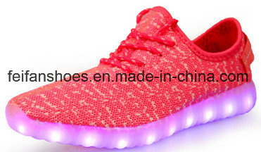 Latest OEM Children Flash LED Shoes Sport Shoes (FFLS0208-02)