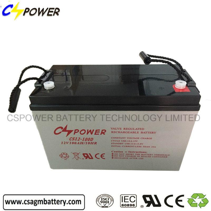 Sealed Lead Acid Batteries 12V 100ah Solar Batteries