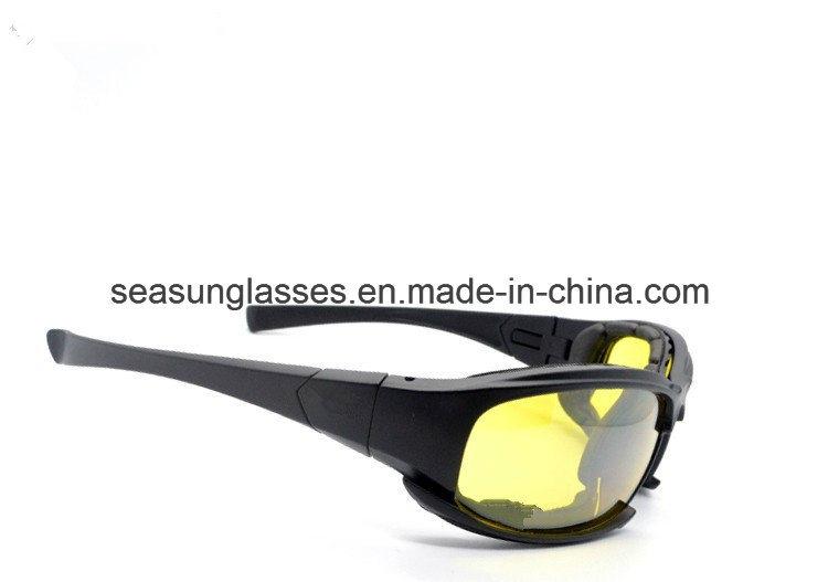 Tactical CS7 X7 Glasses Military Goggles Bullet-Proof Army Sunglasses with 4 Lens Original Box Men Shooting Eyewear