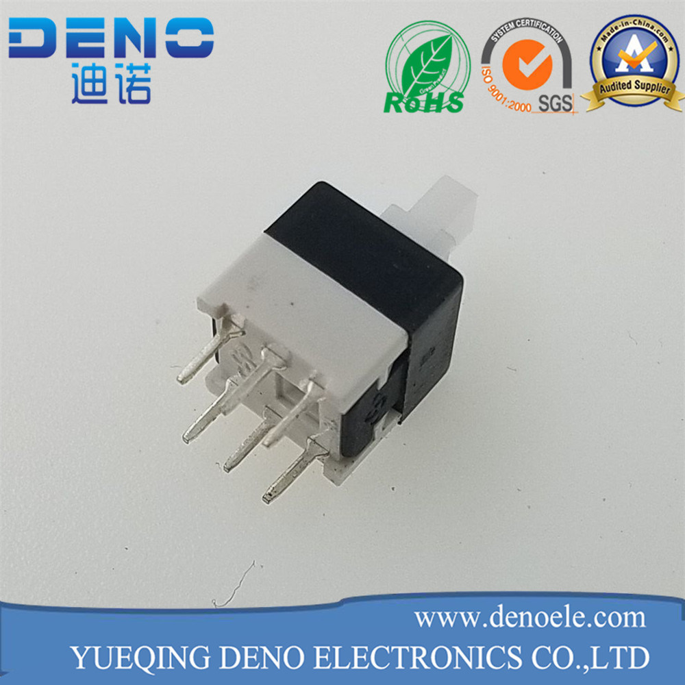 Double Row Self Locking Switch 6 Pin Key Pressure Switch