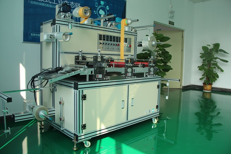Intelligent CNC Multifuntional Circular Knife Laminating Machine with Exhaust Fitting