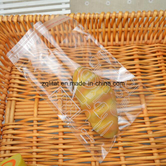 Customzied BOPP Transparent Self-Adhesive Plastic Food Packaging Bag