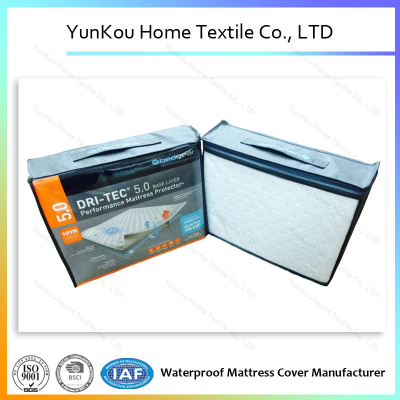 Knitting Fabric with Jacquard Mattress Protector