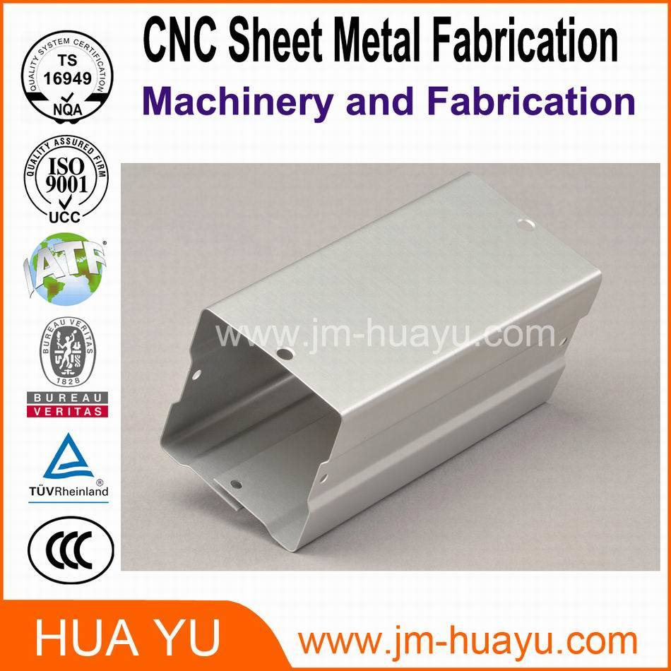 CNC Auto Parts/CNC Brass Parts Sheet Metal Stamping Bending Punching Carbon Steel Auto Parts with Powder Coating