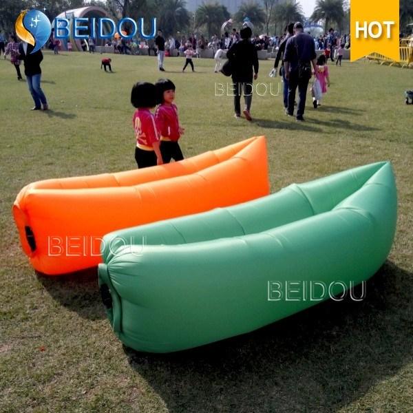 Free-Customized Laybag Lay Sleeping Bag Inflatable Air Sofa Bed