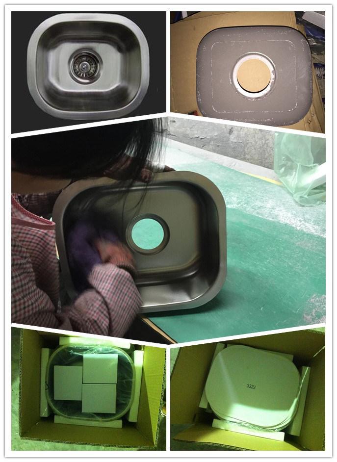 Bar Sink, Stainless Steel Kitchen Sink, Handmade Sink Model: 3328A