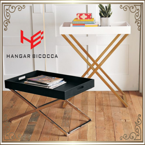 Corner Table (RS161301) Coffee Table Stainless Steel Furniture Home Furniture Hotel Furniture Modern Furniture Table Console Table Tea Table Side Table