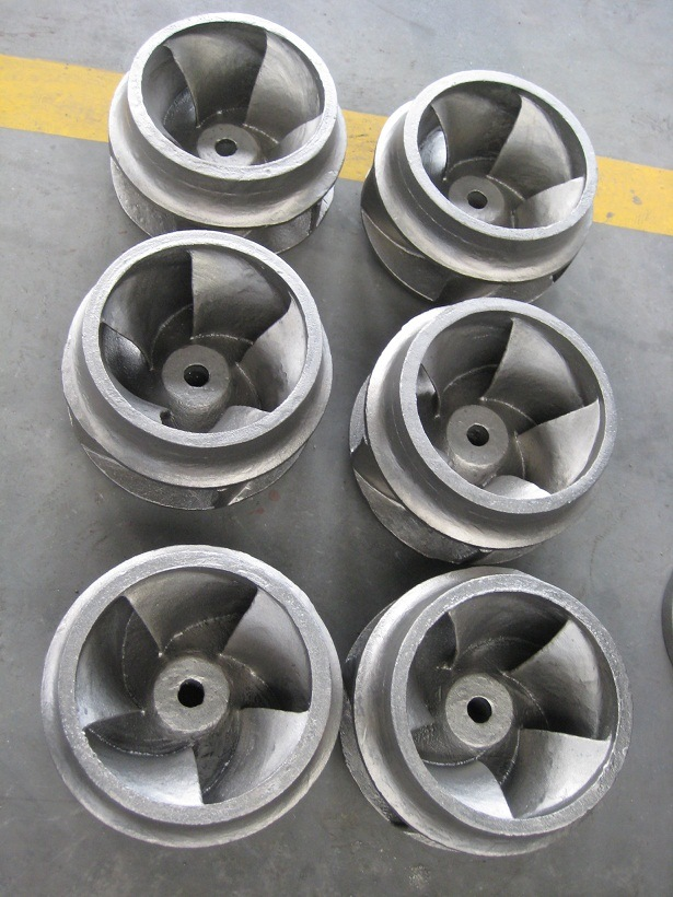 Custom Pressure Steel Metallurgical Casting Pump Casting Impeller