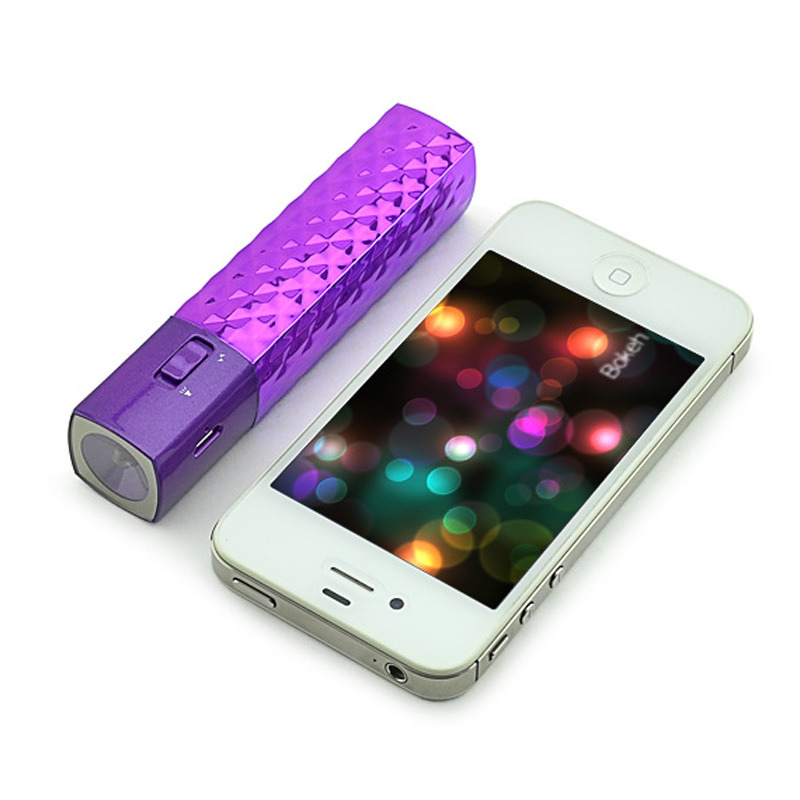2016 New Portable Mobile Power Bank with Torch