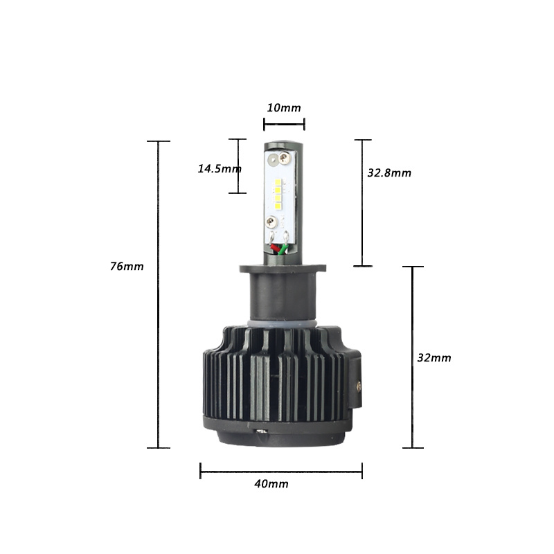 Hot Sale 35W 6000k Csp T6 H3 LED Car Light