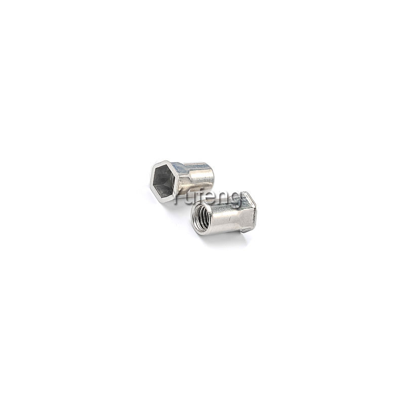 Stainless Steel Rivet Nut Small Head Inside& Outside Hexagon
