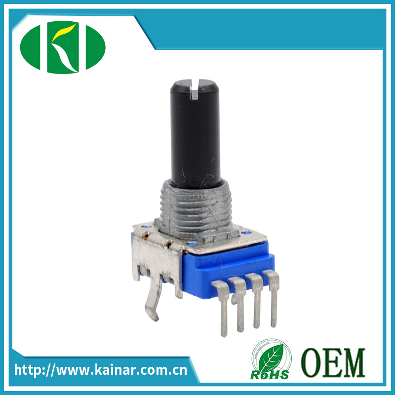11mm Vertical Type Rotary Potentiometer with 4 Pins Wh111A-1
