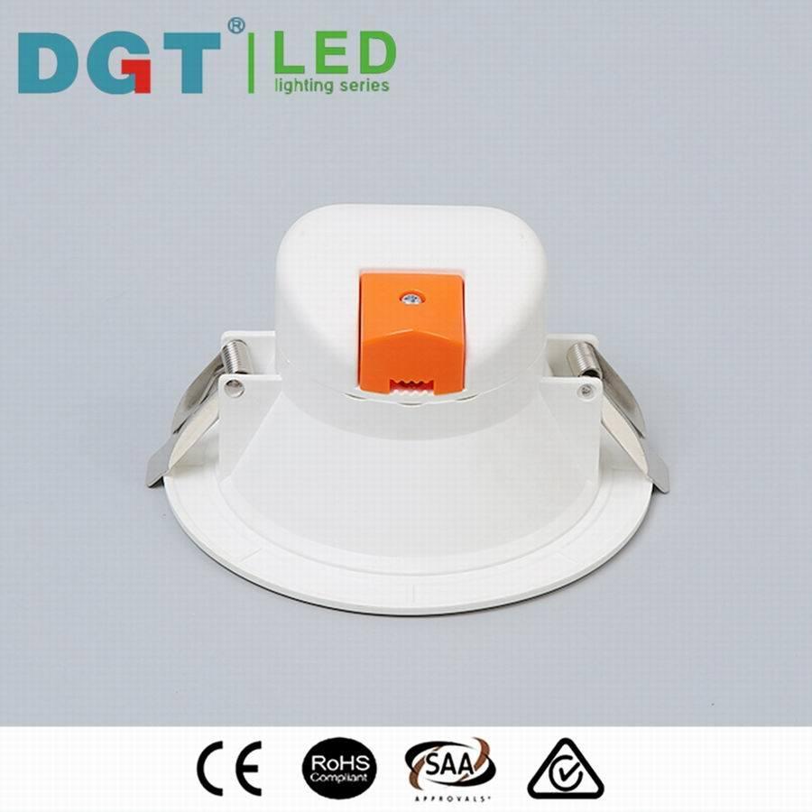 Ce SAA RoHS 5W 8W 10W LED SMD Ceiling Light IP44