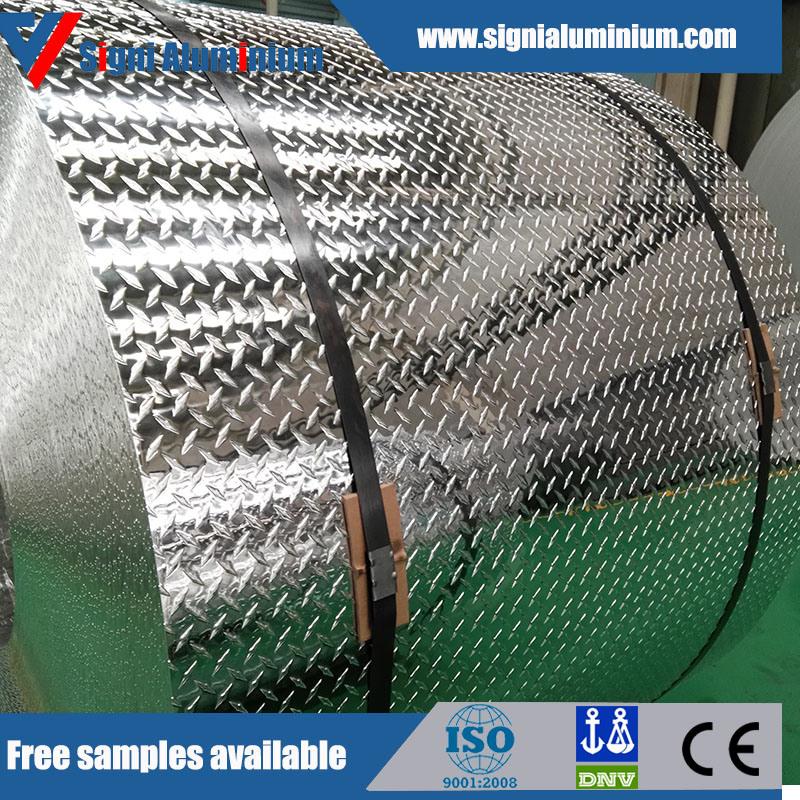 AA5052 H14 Aluminum Checkered Plate/Sheet for Deck